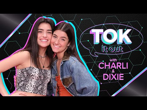 Charli And Dixie D'Amelio Tok It Out Over Hilarious Videos