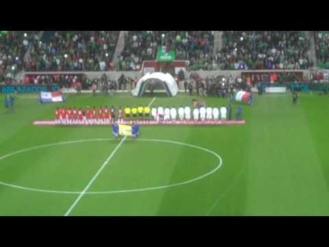 Mexican National Anthem at Toyota Park; Mexico vs Panama