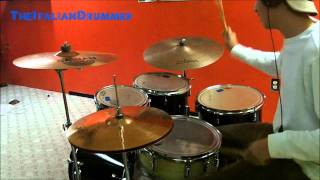 Wiz Khalifa Ft. Snoop Dogg - Young, Wild, And Free - Drum Cover / Remix [720p HD]