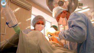 В Новосибирске прооперировали женщину, щитовидная железа которой была увеличена в 50 раз