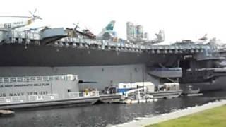 PORTAVIONES MUSEO USS MIDWAY EN SAN DIEGO CALIFORNIA