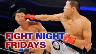 Three-round war between two of China's best welterweights: Li Jingliang and Alex Niu