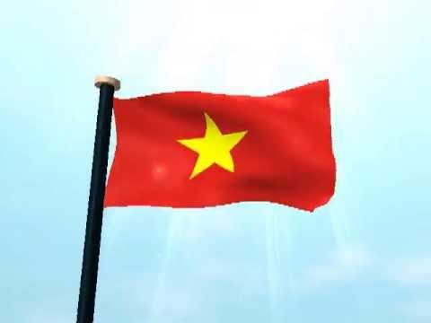 Việt Nam Cờ 3D Hình Nền Động