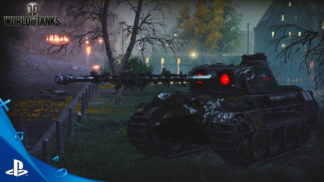 Wot Console Halloween 2020 World of Tanks   Monsters Invade Halloween Trailer | PS4   YouTube