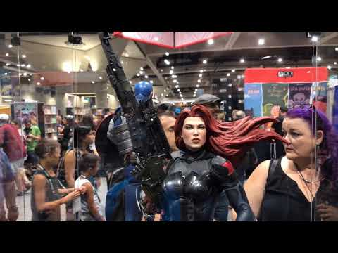 SDCC 2018 Sideshow Booth Tour Statue Close Ups Part 1