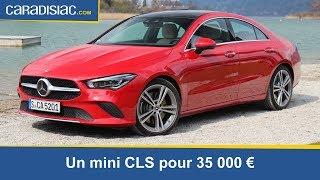 Essai - Mercedes CLA : un goût de luxe pour 35 000 €
