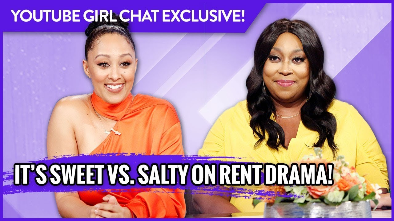 WEB EXCLUSIVE: It's Sweet vs. Salty on Rent Drama!