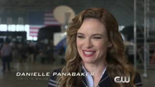 Flash, Arrow, Supergirl, Legends of Tomorrow crossover behind the scenes with cast and crew