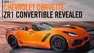 2019 Chevrolet Corvette ZR1 Convertible Reveal LA Auto Show