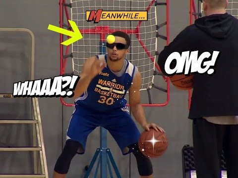 Steph Curry Workout Drills (2016)