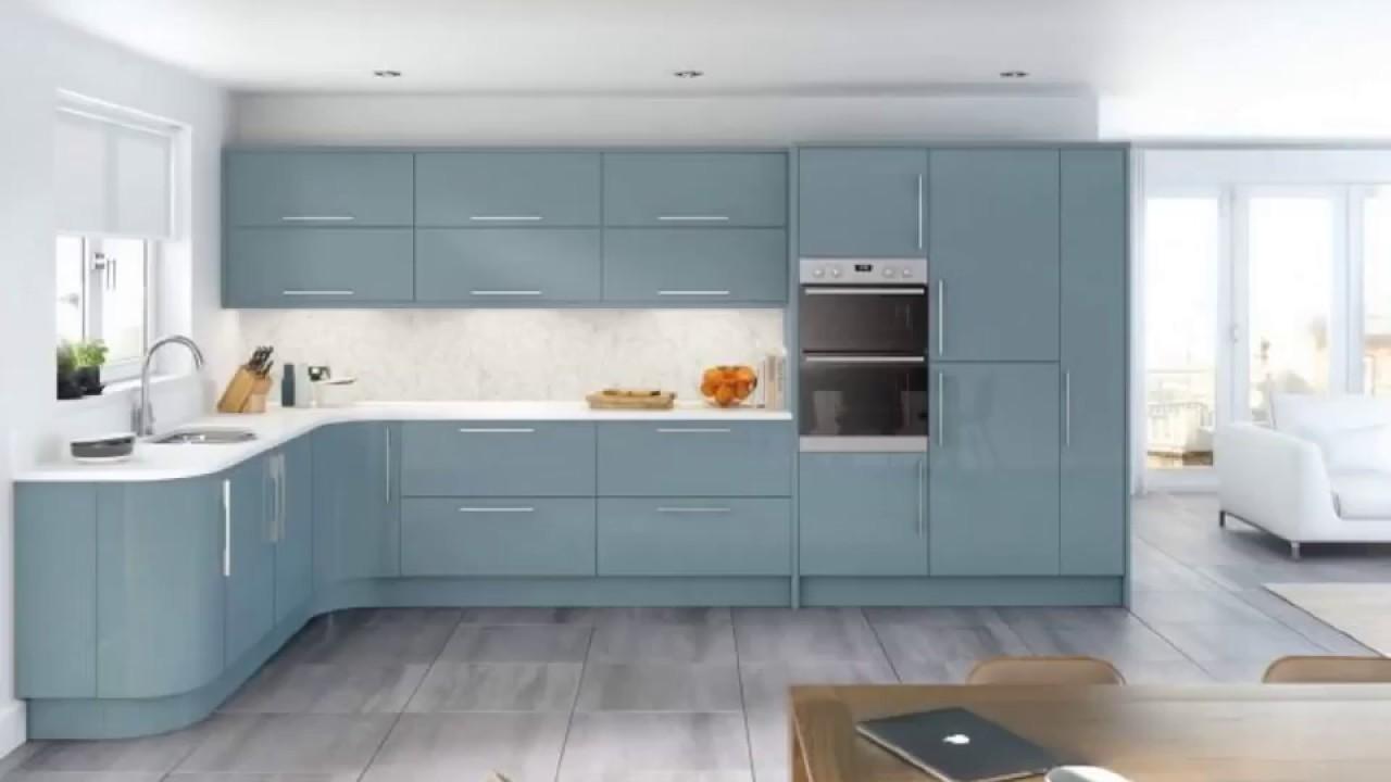 Chalk Paint Kitchen Cabinets Duck Egg Colors