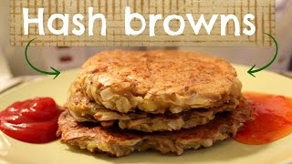 Vegan and low fat hash browns recipe