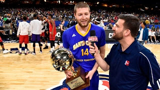 Warriors' Scott Wood Wins the 2017 NBA D-League Three-Point Contest!