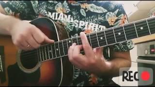 Как играть Чеченский, Кавказский бой на гитаре , видео урок разбор🔽