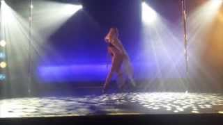 Arlene Caffrey - All Ireland Pole Dancing Championship 2015 Special Guest Performance