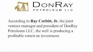 DonRay Petroleum LLC Announces Completion of the DRP Grace #31 Well