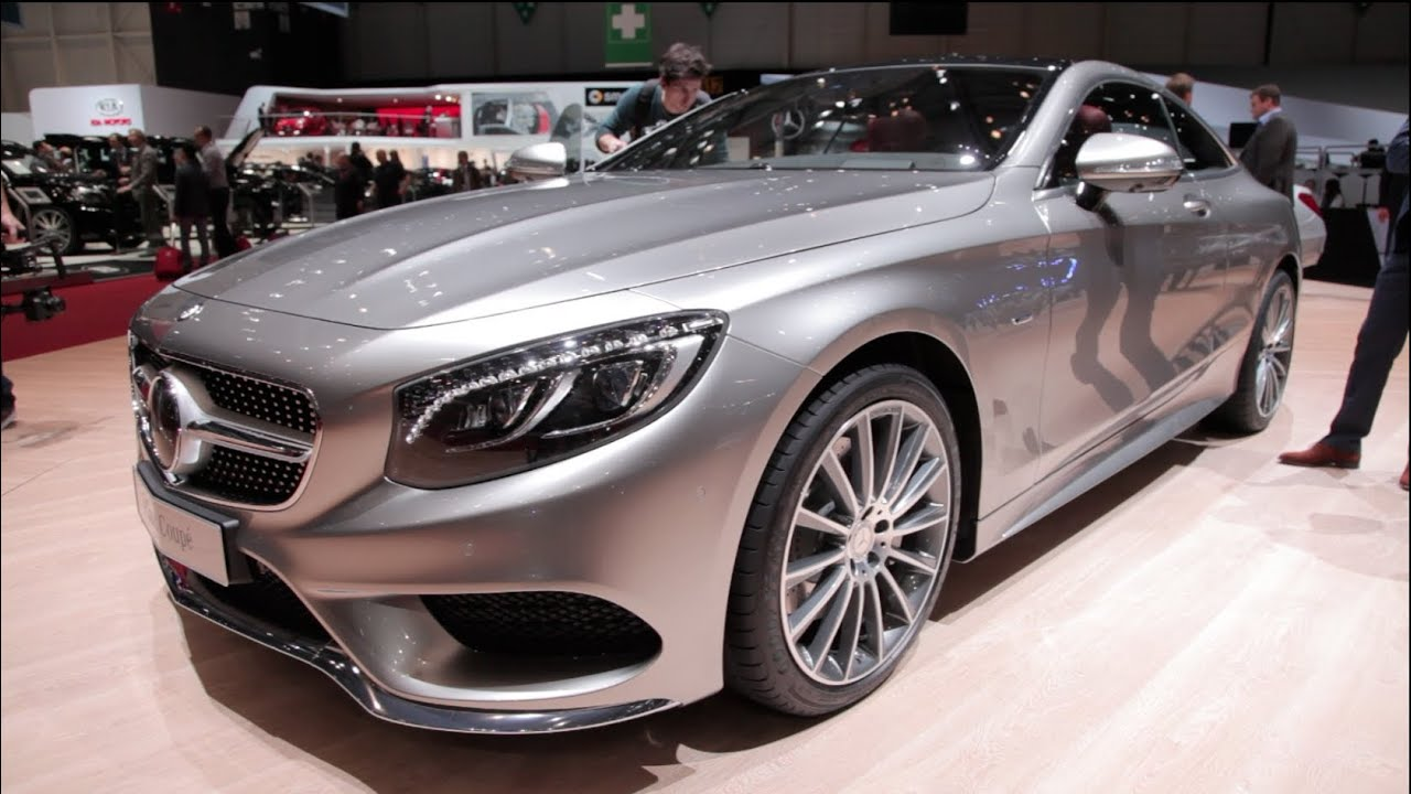 2015 mercedes s class coupe 2014 geneva motor show youtube. Black Bedroom Furniture Sets. Home Design Ideas