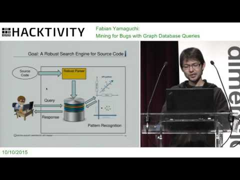 Fabian Yamaguchi – Mining for Bugs with Graph Database Queries