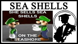 Why Is Luigi Selling Sea Shells?