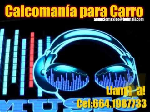 Calcomania para carro con luz youtube for Calcomanias para pared
