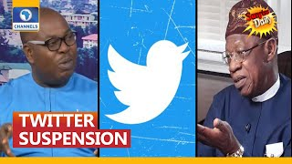 Publisher Highlights FG's Goofs And Gaffs In Twitter Suspension