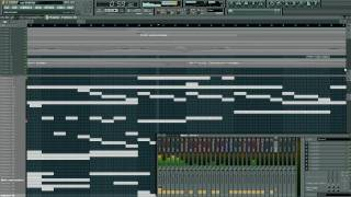 FL Studio 9 - Techno Sounds with Awesome Strings beat (MP3 Download)