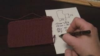 Урок 1.Расчет петель для начала вязания.Уроки вязания на канале