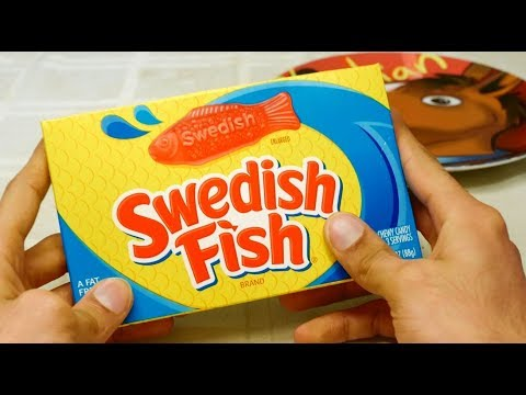 Swedish Fish Unwrapping And Taste Test Review [Sir Sebastian]