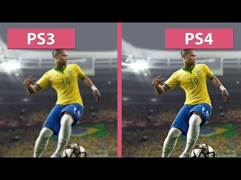 PES | Pro Evolution Soccer 2016 – PS3 vs. PS4 Graphics Comparison (Demo) [FullHD][60fps]