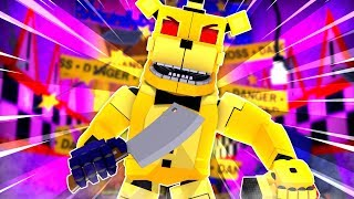 Golden Freddy is The Murderer ?!   Minecraft FNAF Roleplay