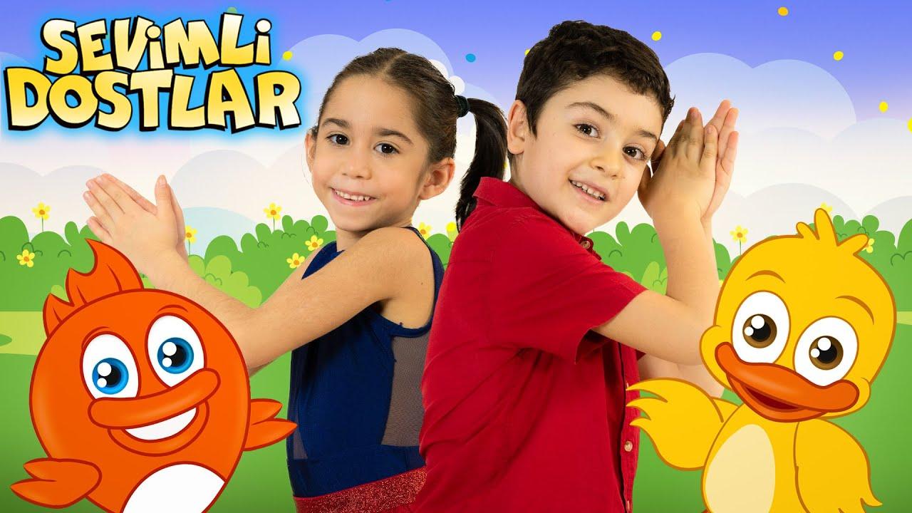 Sevimli Dostlar Bebek Şarkıları | Dans et, eğlen, alkışla! ❤️ Sizden gelenler 😊 Kids Songs