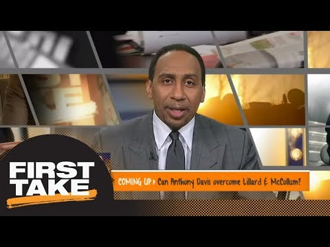 Stephen A. on Spurs: 'I'm at a loss to find out how they're gonna win a game' | First Take | ESPN