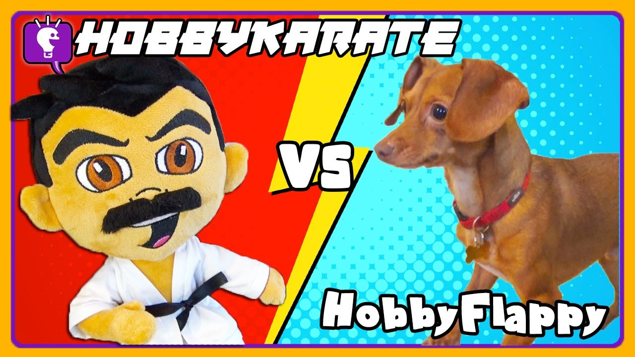 HobbyKarate VS HobbyFlappy! Plushie Battles Dog - Limited Edition Plush Toy