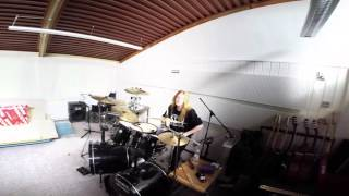 Poison - Talk dirty to me (Drum Cover - By Nick Valentino)