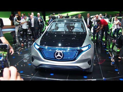 2017 Mercedes-Benz Generation EQ Concept First Look - 2016 Paris Motor Show