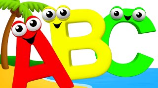 ABC Songs for Children | Alphabet Song Phonics Sounds for Kids Kindergarten Preschool Toddlers