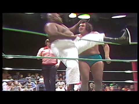 Abdullah the Butcher vs. Bill Williams (Georgia Championship Wrestling 1970's)
