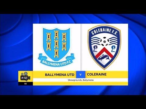 Ballymena Utd Vs Coleraine - 30th September 2017