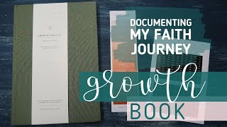 Faith Journaling with the Growth Book // Growth Roots Co Growth Book