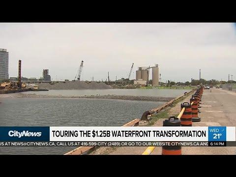 Touring the $1.25 billion waterfront transformation
