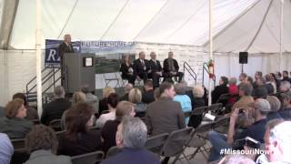 Governor Nixon breaks ground on new $4.8 million manufacturing facility
