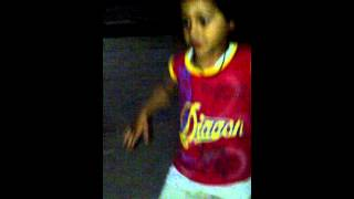 child dance in Song lak 28 kudi da 47 weight  funny