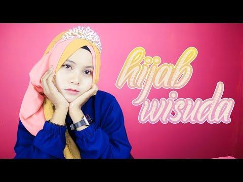 Contoh Soal Dan Materi Pelajaran 4 Model Hijab Wisuda Pakai Mahkota