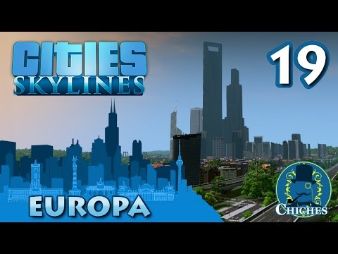 Cities Skylines - Europa - Reboot #19 en español
