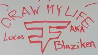 "FaZe Blaze ""Draw My Life"" (FaZe House New York)"