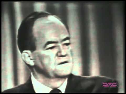 Hubert Humphrey Convention Speech 1964 ElectionWallDotOrg.flv