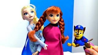 Куклы из мультика Холодное сердце: Эльза ищет Анну