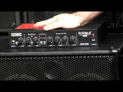 Fender Rumble 150 Head and Rumble 350 Head - Sweetwater NAMM 2011