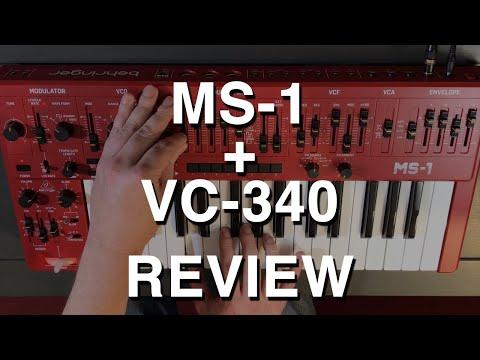 Review: Behringer MS-1 Synthesizer + VC-340 Vocoder w/ Roland SH-101 Comparison