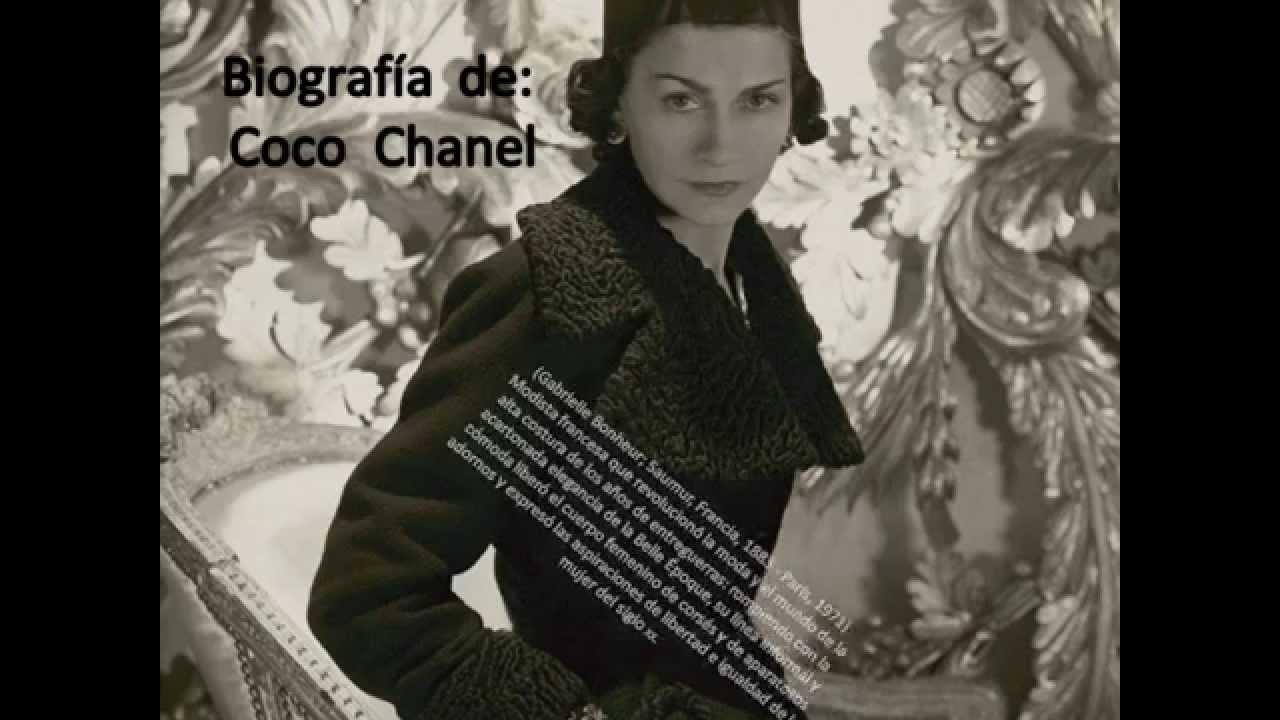 biografia de Coco Chanel - YouTube